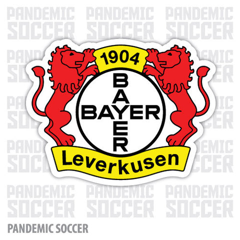 Bayer Leverkusen Germany Color Vinyl Sticker Decal - Pandemic Soccer