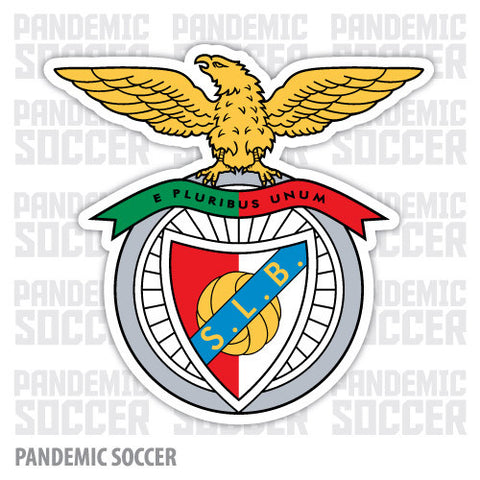 Benfica Portugal Vinyl Sticker Decal - Pandemic Soccer