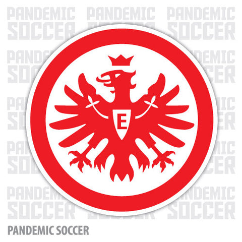 Eintracht Frankfurt Germany Vinyl Sticker Decal - Pandemic Soccer