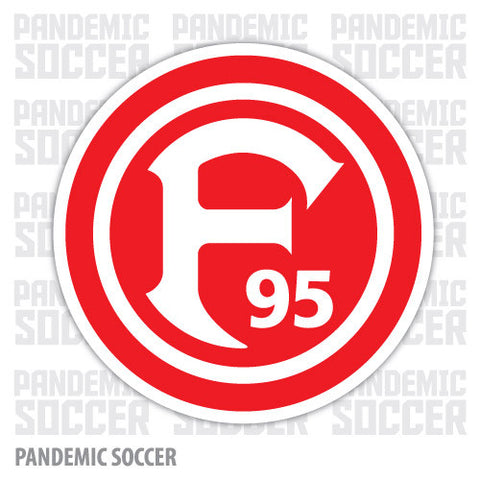 Fortuna Dusseldorf Germany Vinyl Sticker Decal - Pandemic Soccer