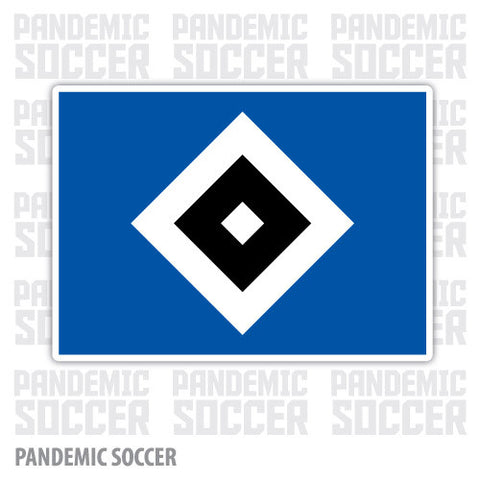 Hamburger SV Germany Color Vinyl Sticker Decal - Pandemic Soccer