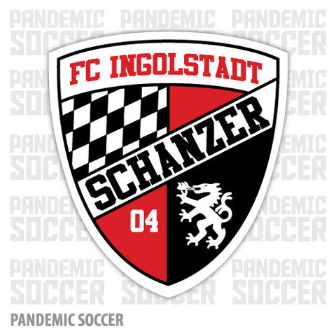 FC Ingolstadt Germany Vinyl Sticker Decal - Pandemic Soccer