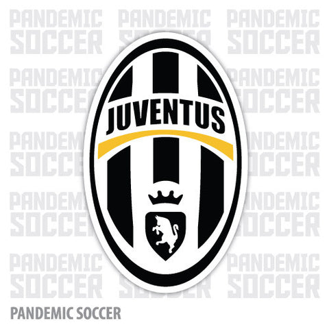 Juventus FC Calcio Italy Vinyl Sticker Decal - Pandemic Soccer