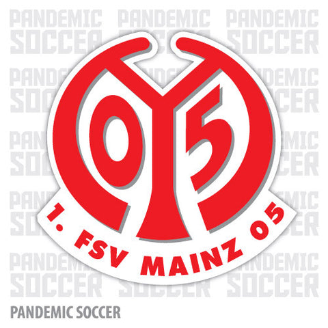 FSV Mainz 05 Germany Vinyl Sticker Decal - Pandemic Soccer