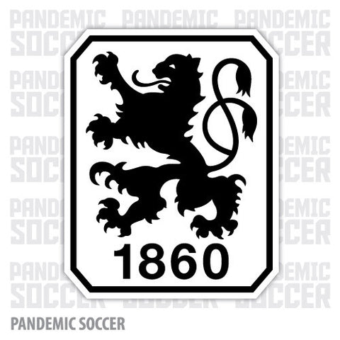 TSV 1860 Munich Germany Color Vinyl Sticker Decal