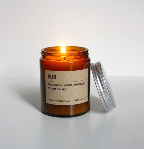 Posie Amber Jar Candle