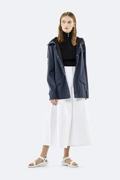 Rains navy blue jacket