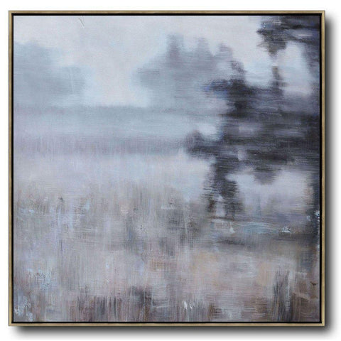 Abstract Landscape Oil Painting #LX21A-Abstract Art-CZ Art Design(Celine Ziang Art)