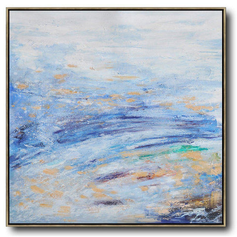 Abstract Landscape Oil Painting #LX42A-Abstract Art-CZ Art Design(Celine Ziang Art)