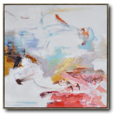 Abstract Landscape Oil Painting #LX65A-Abstract Art-CZ Art Design(Celine Ziang Art)