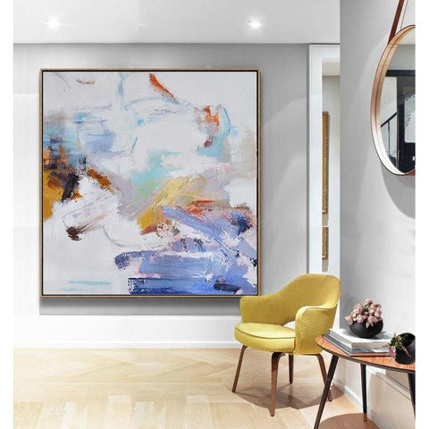 Abstract Landscape Oil Painting #LX66A-Abstract Art-CZ Art Design(Celine Ziang Art)