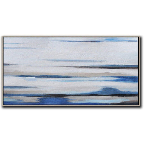 Panoramic Abstract Landscape Art #DH12D-Abstract Art-CZ Art Design(Celine Ziang Art)