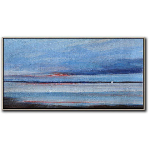 Panoramic Abstract Landscape #DH23D-Abstract Art-CZ Art Design(Celine Ziang Art)
