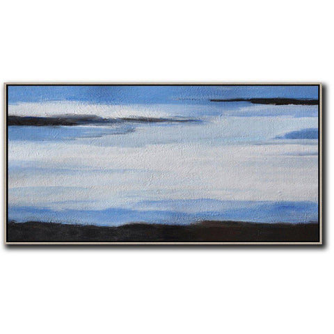 Panoramic Abstract Landscape #DH9D-Abstract Art-CZ Art Design(Celine Ziang Art)