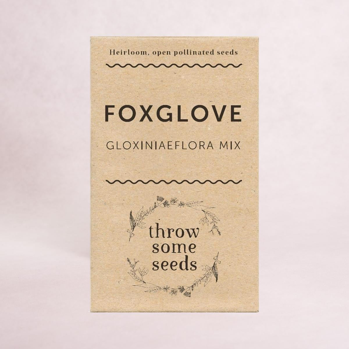 Foxglove (Gloxiniaeflora Mix) Seeds - Seeds - Throw Some Seeds - Australian gardening gifts and eco products online!