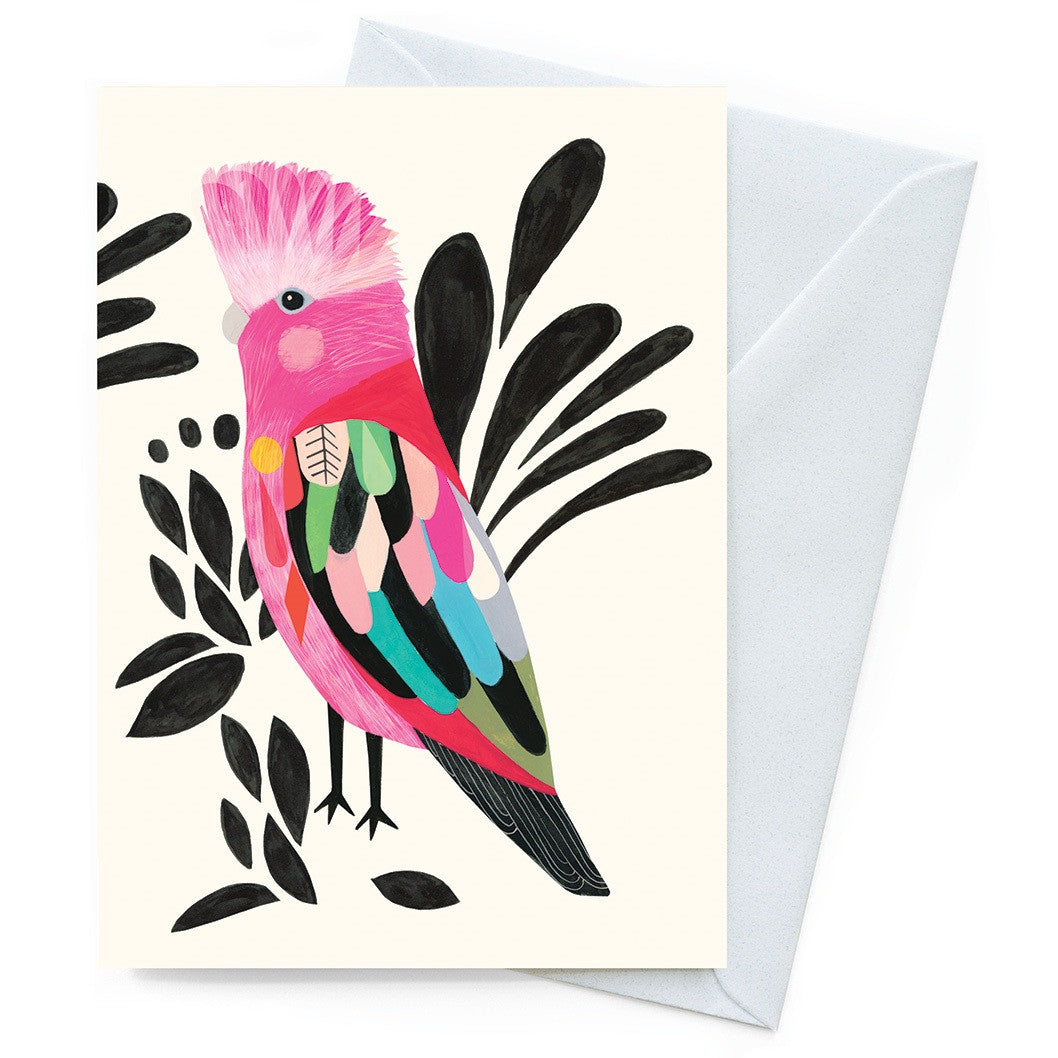 Inaluxe Card – Galah - Card - Throw Some Seeds - Australian gardening gifts and eco products online!