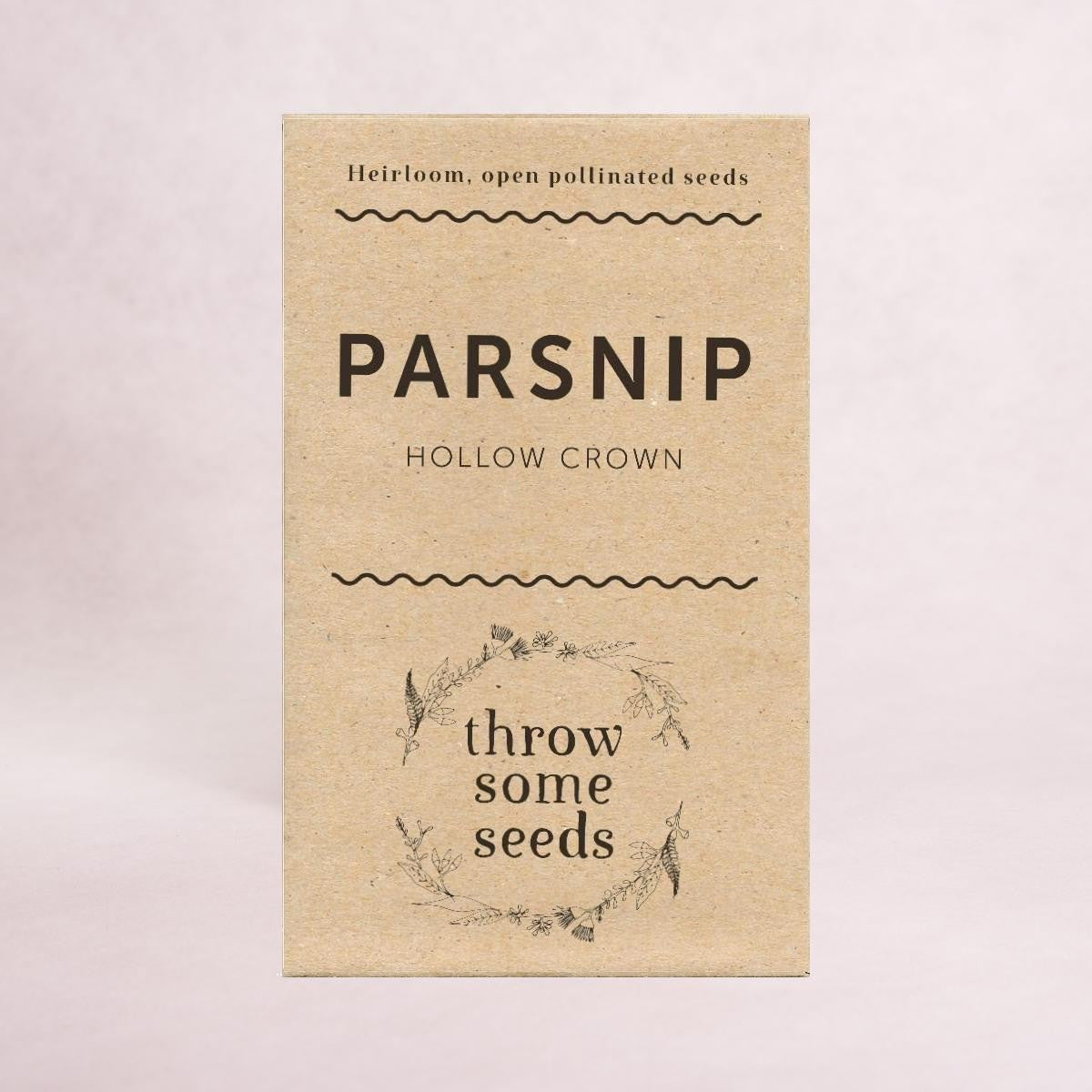 Parsnip (Hollow Crown) Seeds - Seeds - Throw Some Seeds - Australian gardening gifts and eco products online!