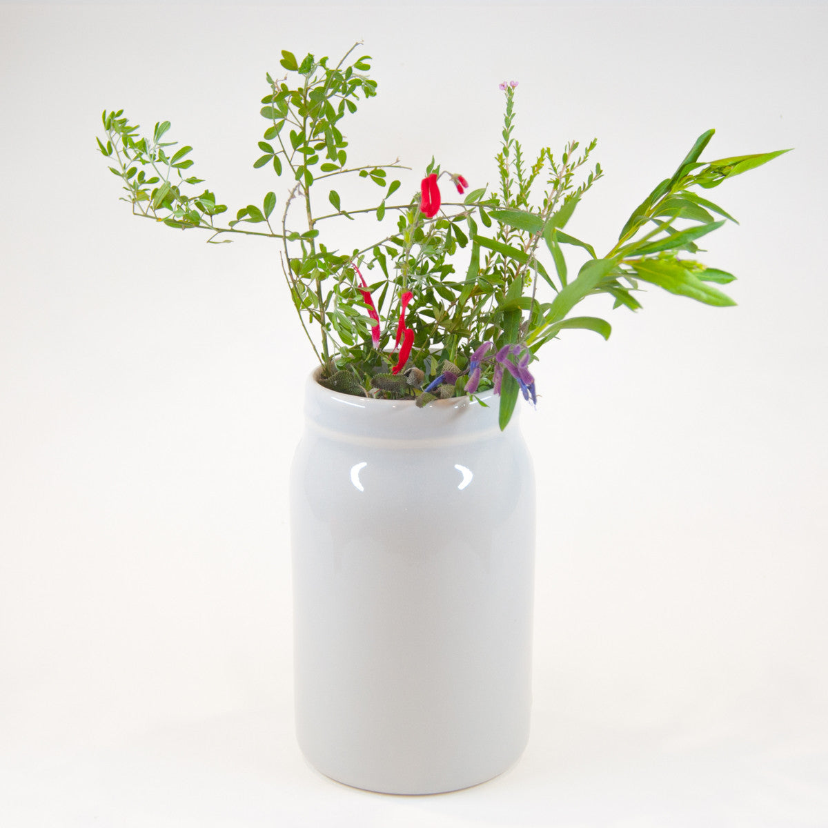 Large Ceramic Vase - Glazed (Assorted Colours!) - Vase - Throw Some Seeds - Australian gardening gifts and eco products online!