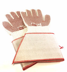 Grip'N Hot Mill Gloves with Gauntlet Cuff