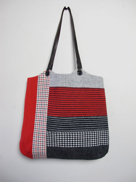Patchwork Tote Bag - Myfanwy