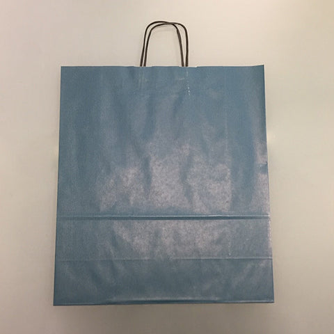 blue paper bags clearance