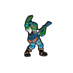 Classic Rocker Leo Pin - Warrior Pins