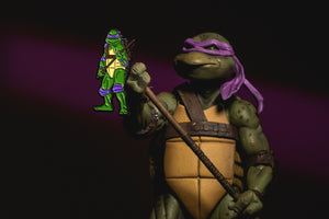 Donatello 1990 TMNT Movie Pin