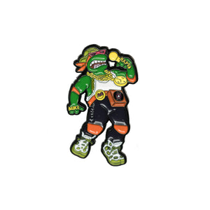 Rappin' Mike Pin - Warrior Pins