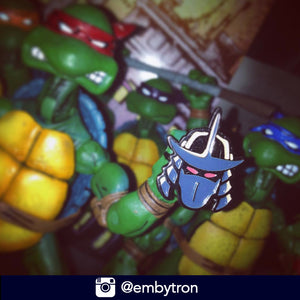 Instagram | @embytron| Shredder Enamel Pins Ninja Turtles