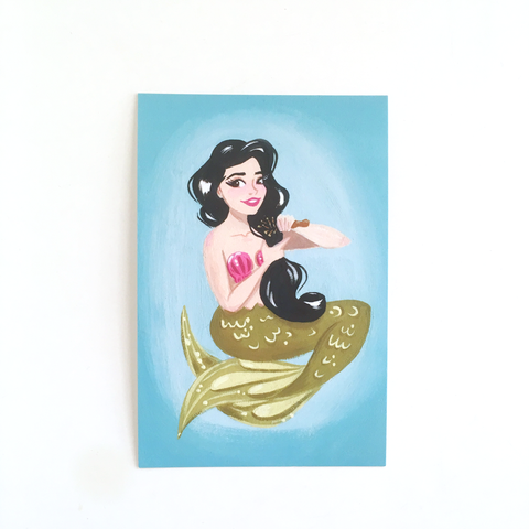 "Florence of the Sea – Single 4x6"" Postcard"