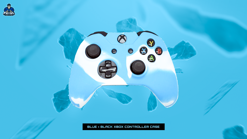 FATAL GRIPS | BLUE/WHITE XBOX ONE CONTROLLER CASE - fatalgrips