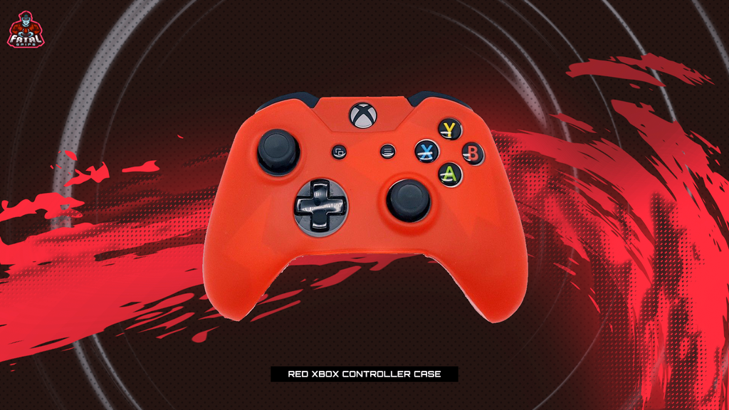 FATAL GRIPS | RED XBOX ONE CONTROLLER CASE - fatalgrips