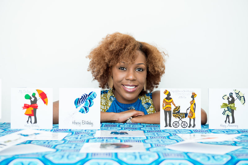 Meet The Pharmacist Turned Entrepreneur Who Has Launched An African Inspired Greetings Card Company