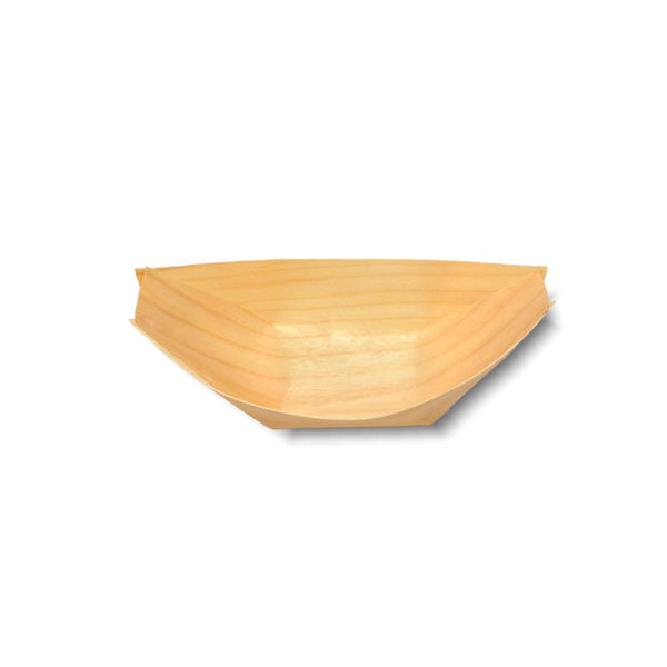 bamboo wooden boat 14cm
