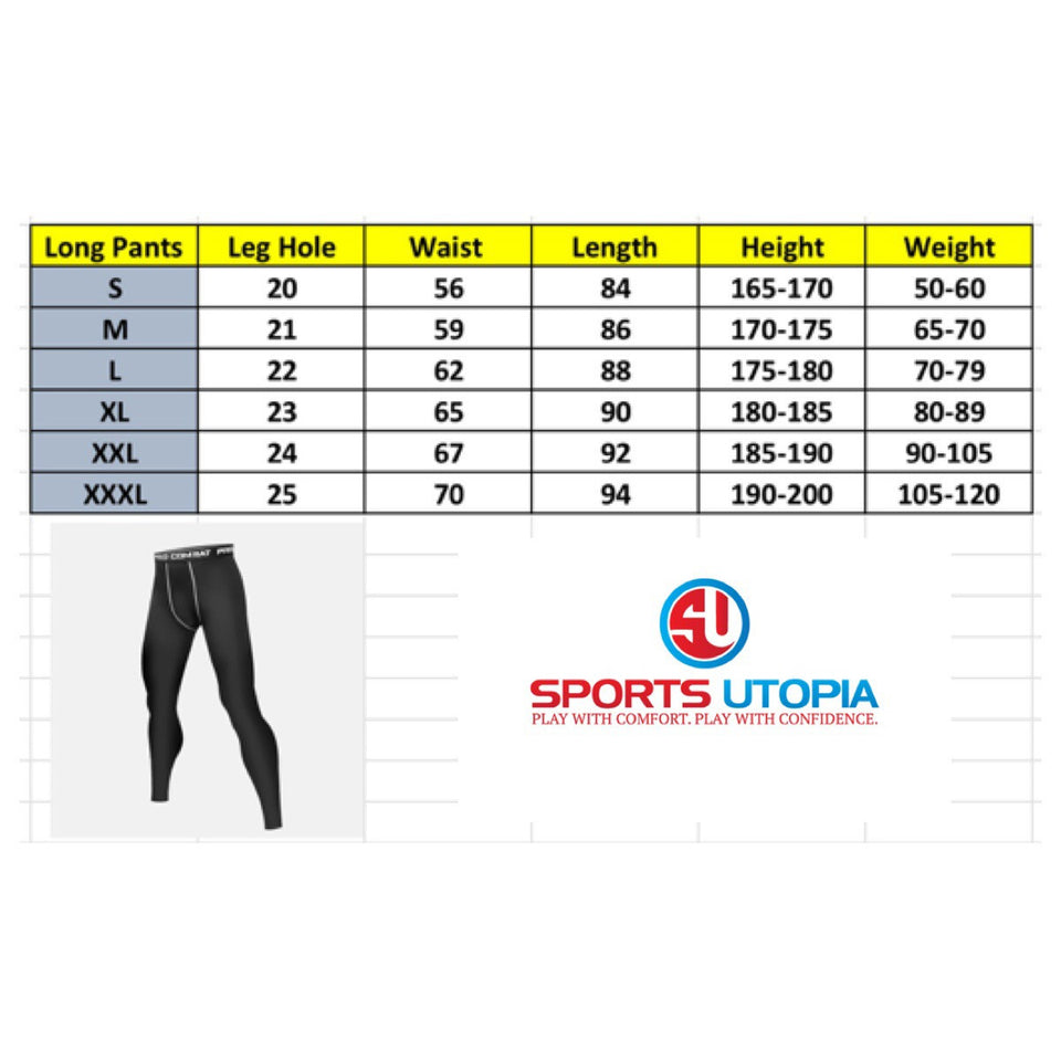 Elite II Reflective Pro Combat Long Bottom Compression Tights