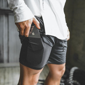 Qualifier 2-in-1 Shorts (Black) MUST HAVE ITEM
