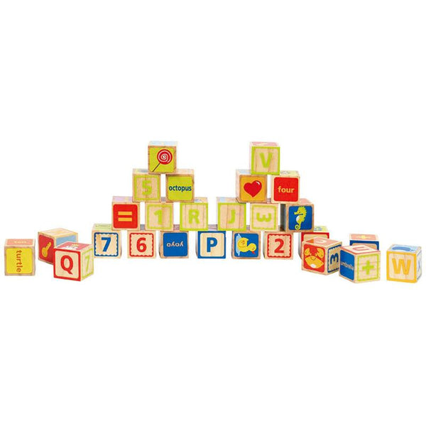 ABC BLOCKS - HAPE  - BLOQUES ABC