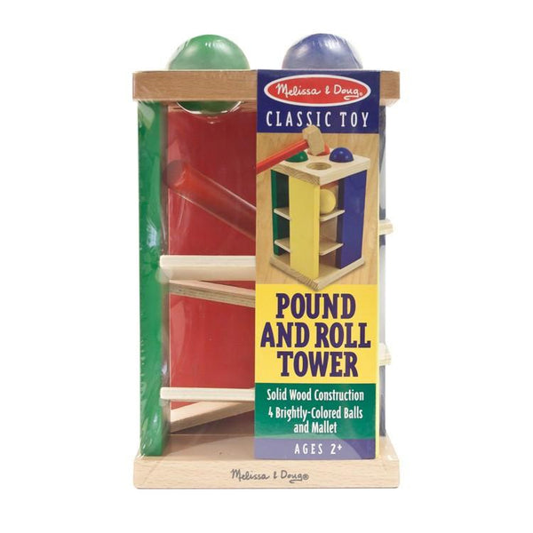 Torre para golpear y girar -Melissa & Doug- Pound an Roll Tower