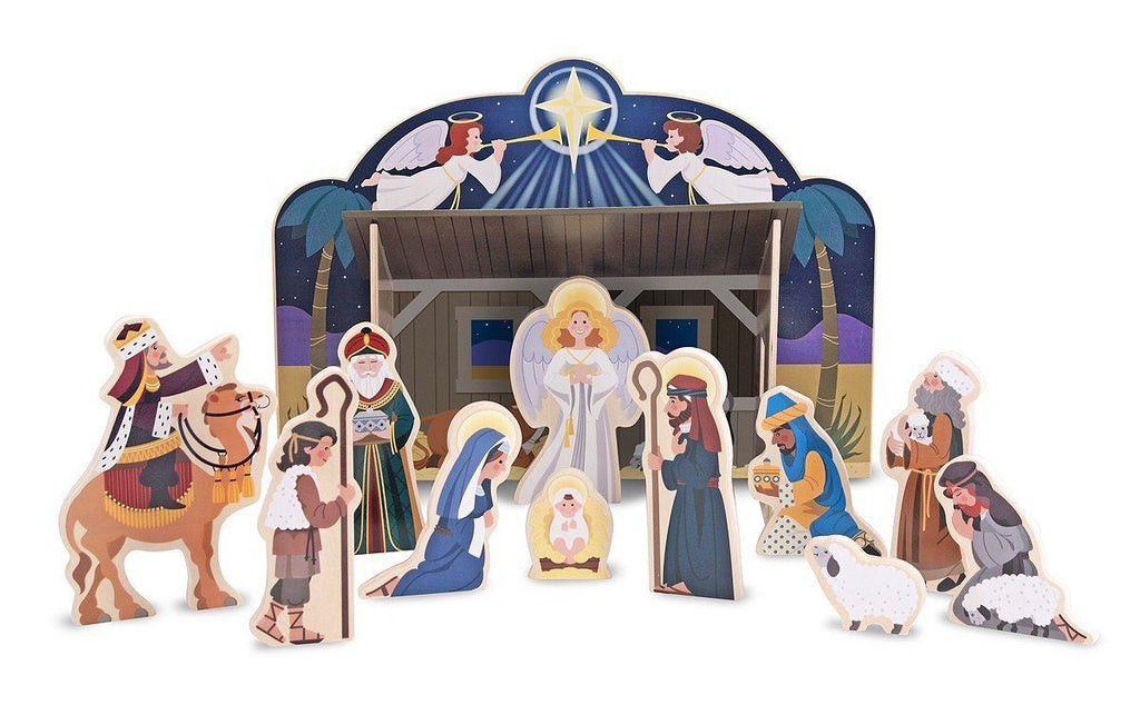 Set Navideño -Melissa & Doug- Nativity Set