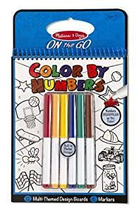 Color By Numbers - Melissa & Doug - Colores y numeros