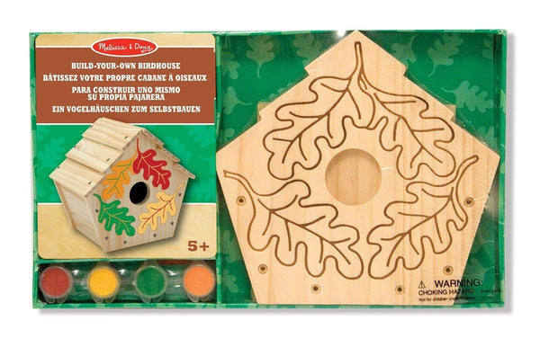 Pajarera de madera - Melissa & Doug - Build your own birdhouse