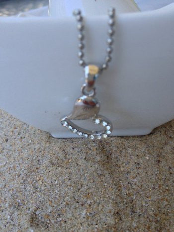Swarovski Crystal Heart Necklace