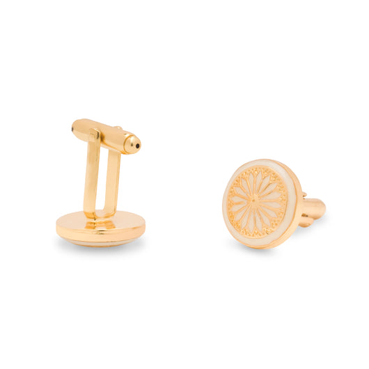 The Kutch Cufflinks - Ivory