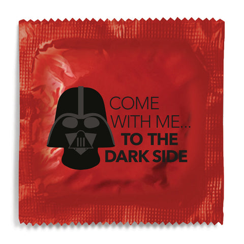 Come With Me To The Dark Side Condom