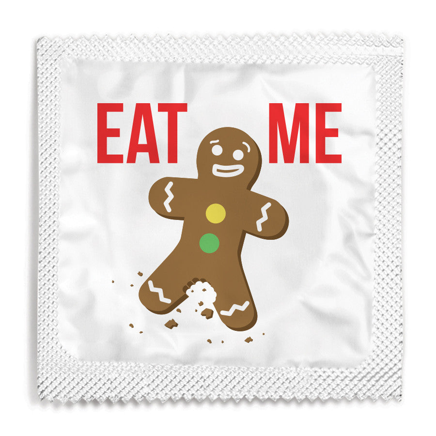 Eat Me Gingerbread Man Condom