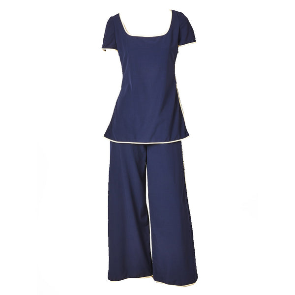Galanos Nautical Inspired Pant Ensemble