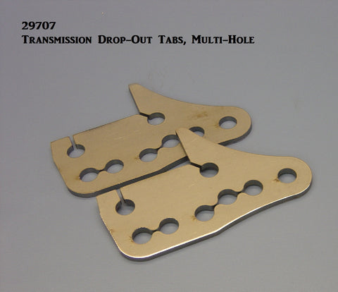29707 Transmission Drop-Out Tabs, Multi-Hole style