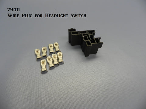 79411 Wire Plug for Headlight Switch
