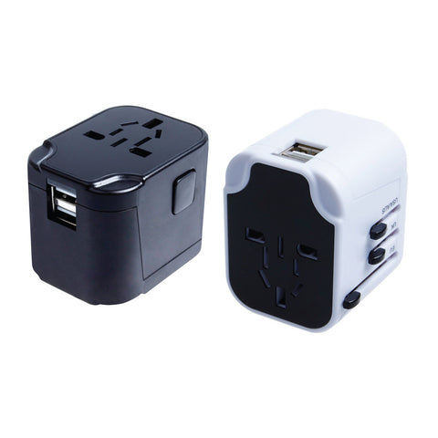 USB Travel Adaptor with 2 Hub