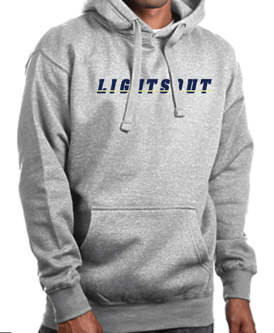 Lights Out Hoodie - Carbon Grey